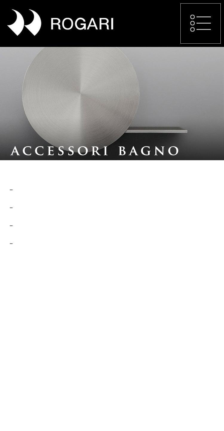 ROGARI - ACCESSORI BAGNO
